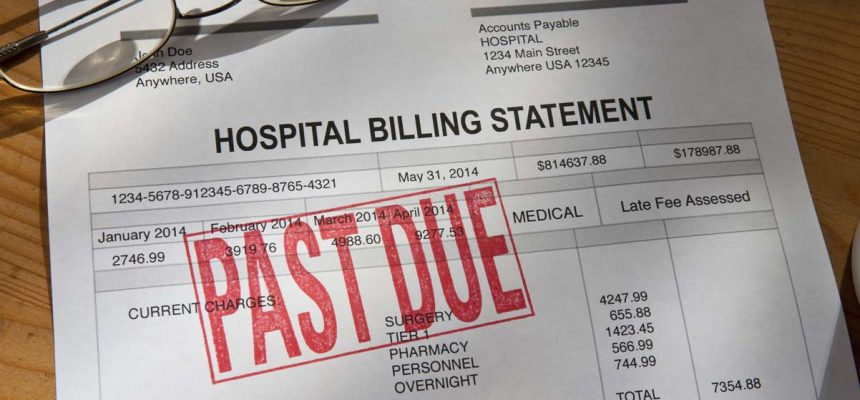 Woman Receives Big Medical Bill Over One Year After Receiving Treatment